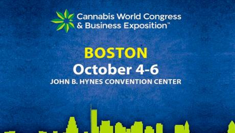 Congreso mundial de cannabis en Boston