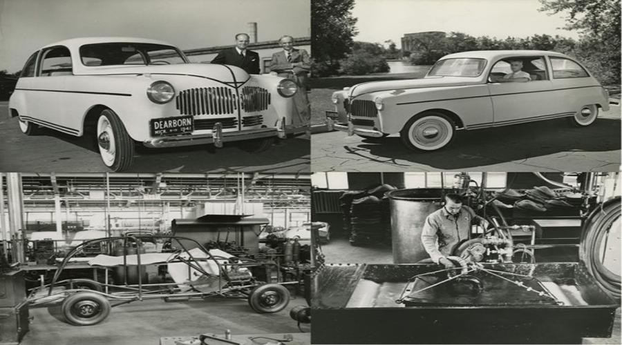 Henry Ford llegó a utilizar carrocería a base de cáñamo