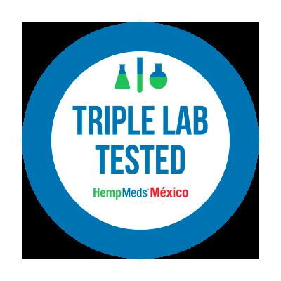 Sello pequeño de cannabis probado tres veces en laboratorio